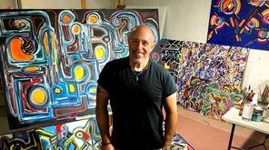 Longtime concert lighting director Steve Cohen says painting