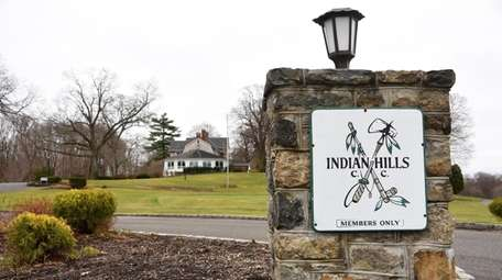 Senior housing is proposed at the Indian Hills