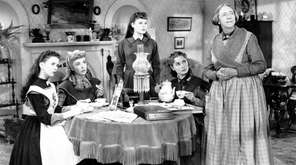 """The 1949 film """"Little Women,"""" with, from left,"""