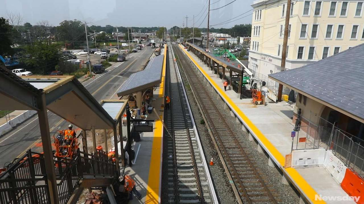 lirr: double track project will be completed by end of summer | newsday