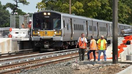 As work nears completion on the LIRR's Double
