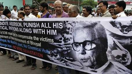 Protest in India last week