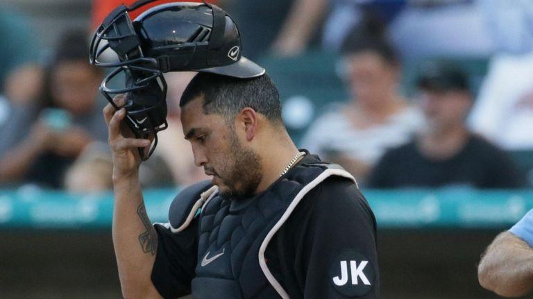 Dioner Navarro, the former major league catcher,