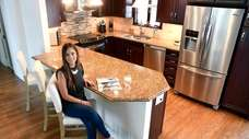 Kacie Martinez bought a house in Huntington Station