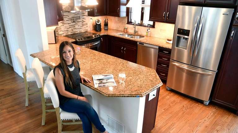Kacie Martinez bought a house in Huntington Station