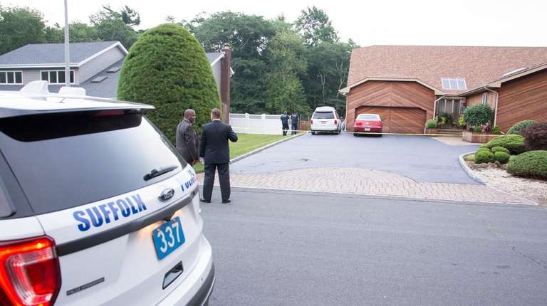 Suffolk detectives are investigating the possible drowning of