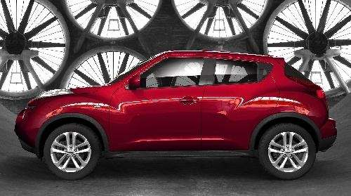 the 2011 Nissan Juke. (Undated)