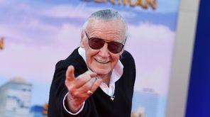 Stan Lee at the 2017 Los Angeles premiere