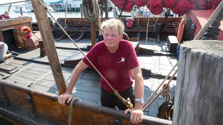 Björn Ahlander, captain of the Draken Harald Hårfagre.