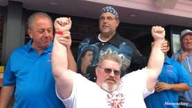 The fifth annual Long Island Clam Eating Contest