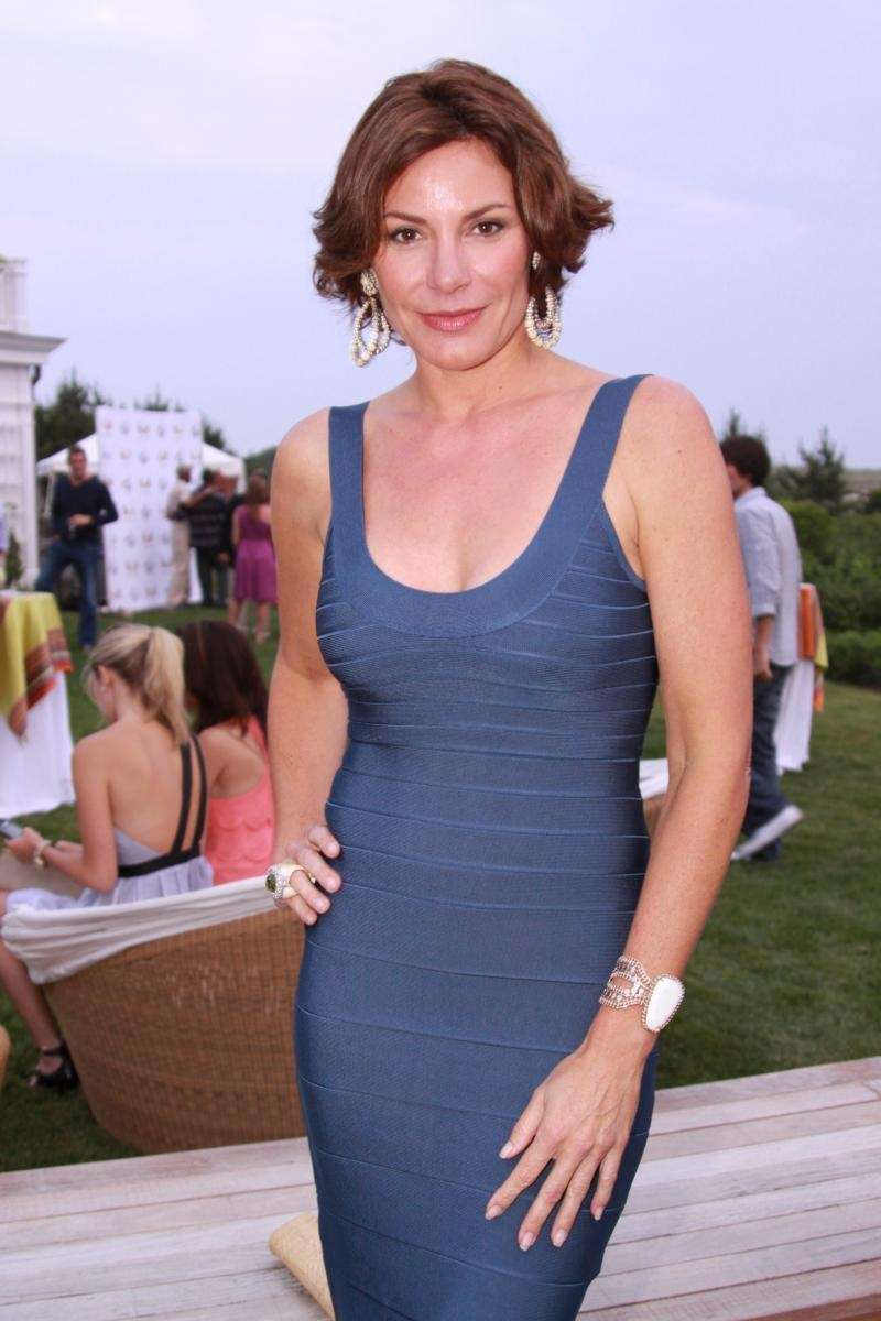 Countess Luann de Lesseps poses at Phoenix House