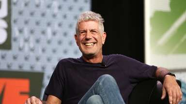 Anthony Bourdain speaks during South By Southwest at