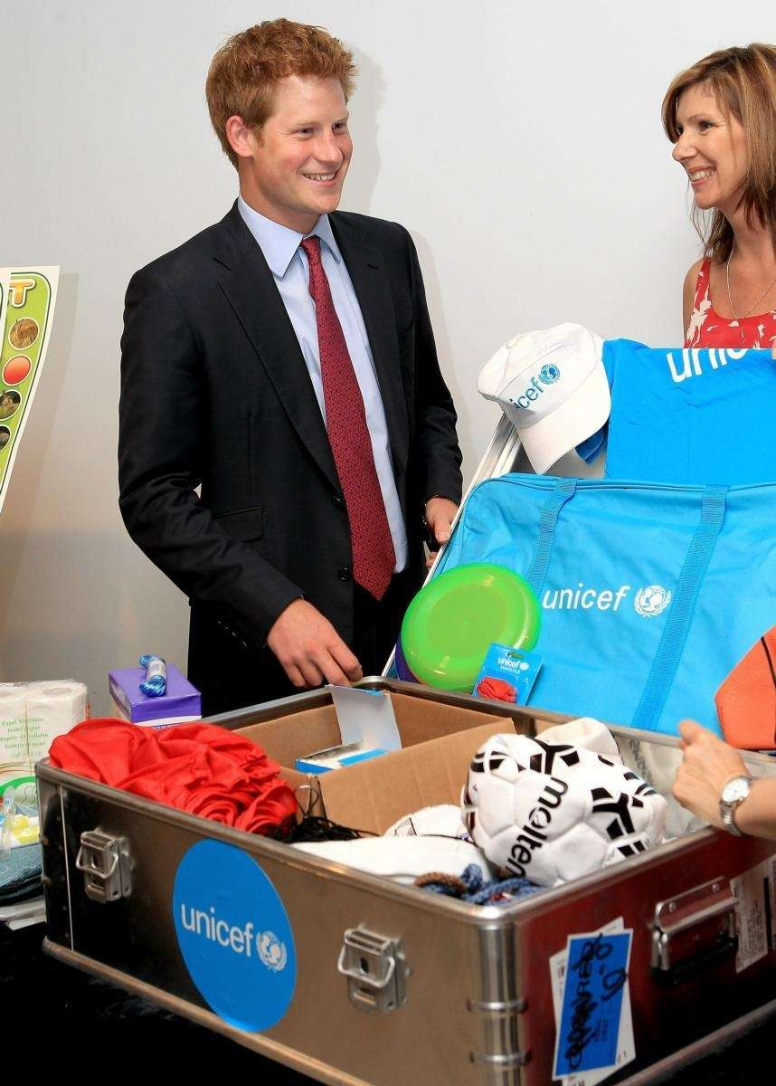 Prince Harry visits UNICEF offices in New York
