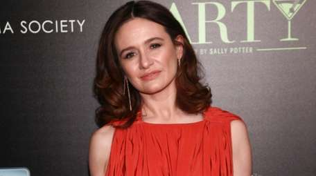 Emily Mortimer, who lives in Amagansett, stars in