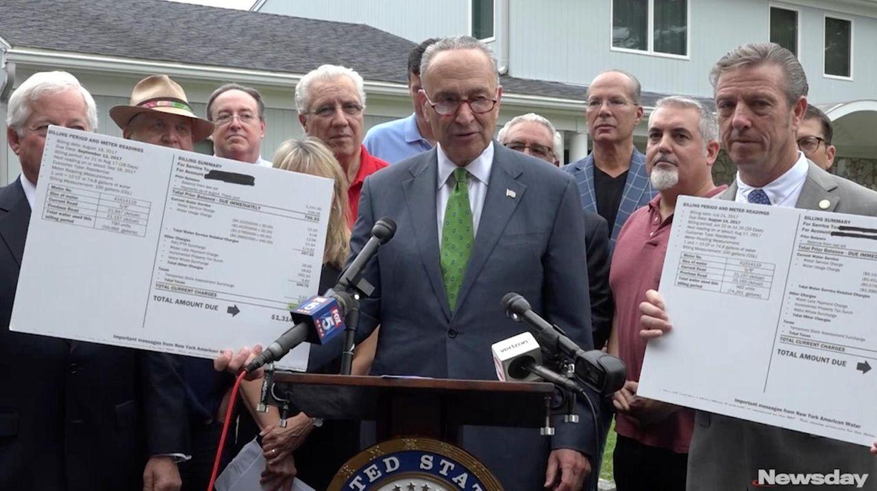 Sen. Chuck Schumer (D-N.Y.) is the latest public