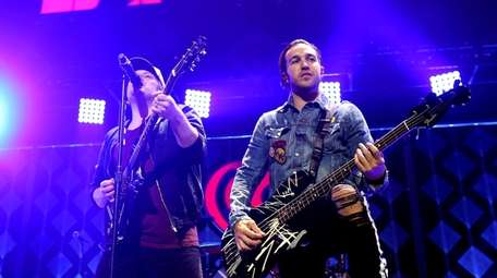 Patrick Stump, left, and Pete Wentz, of Fall