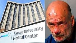 Joseph Hores, 56, of Freeport, kicked a physician