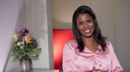 Television personality and former White House staffer Omarosa
