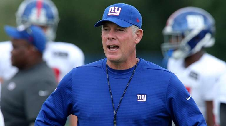 Giants head coach Pat Shurmur learned a lot