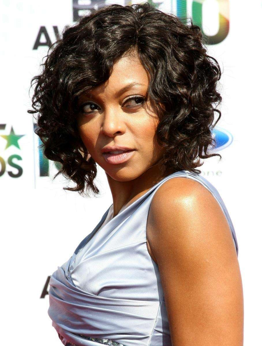 Actress Taraji P. Henson arrives at the 2010