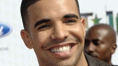 Aubrey Graham, also known as Drake, arrives at