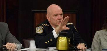 NYPD Chief of Department Terence Monahan, above in