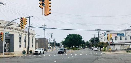 The corner of Grand Avenue and Merrick Road