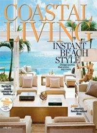 June issue of Coastal Living