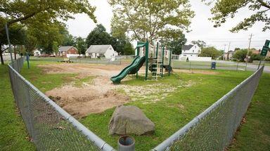Lt. Edward Weckerle Memorial Park in Lindenhurst, seen