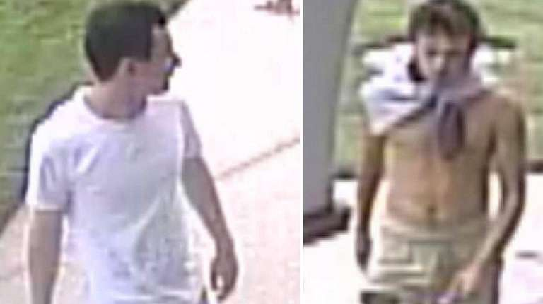 Suspects in the vandalism of a Greenport church