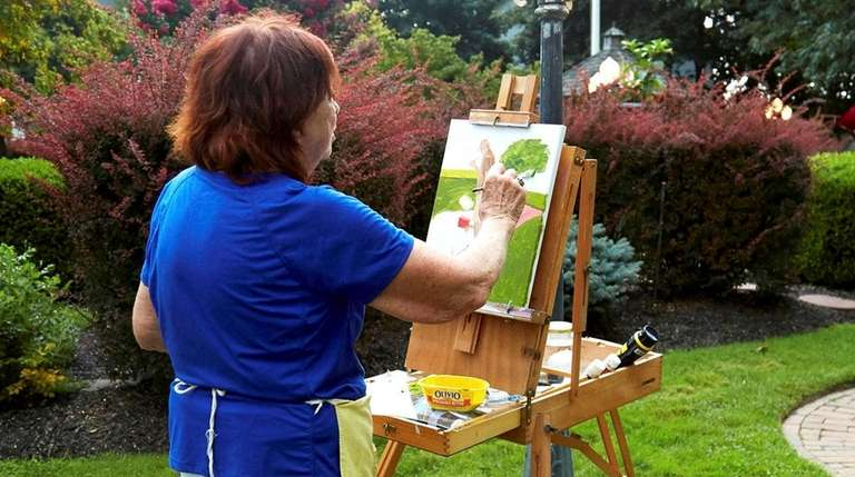 Artists Find Inspiration At The Great South Bay Quick Draw In