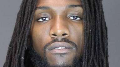 Nets' Kenneth Faried is pictured following his arrest