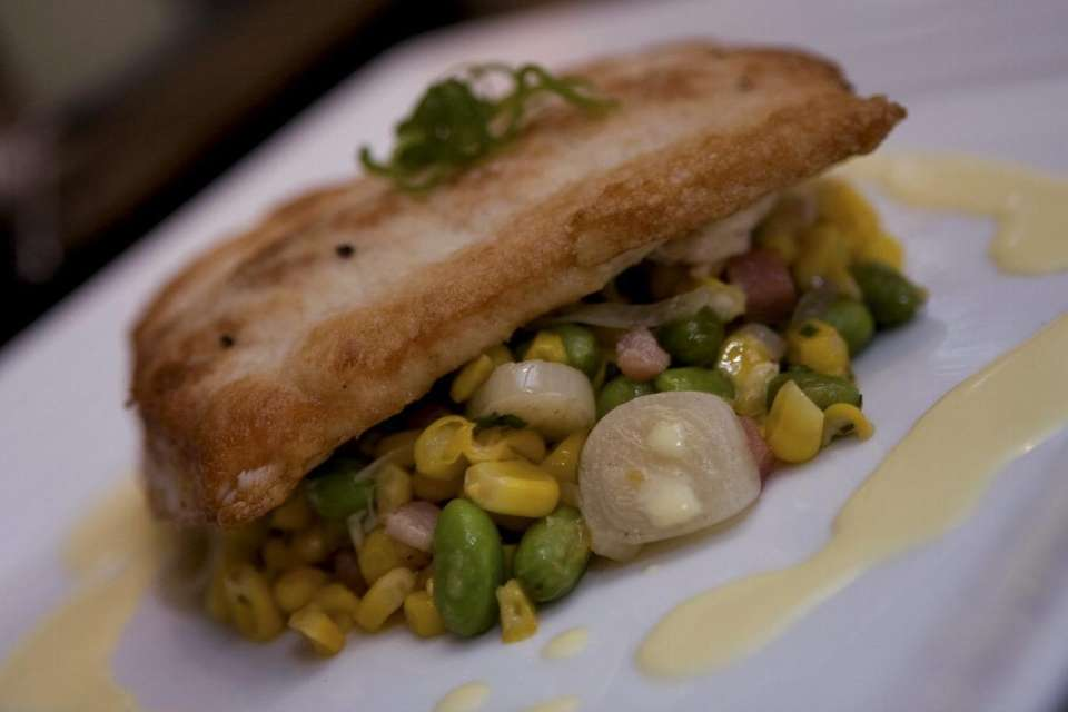Pan-roasted mahi mahi is one of the fish