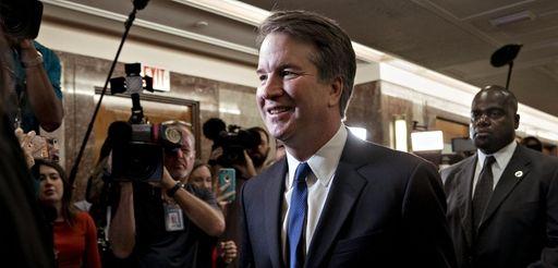 Supreme Court nominee Brett Kavanaugh arrives for a