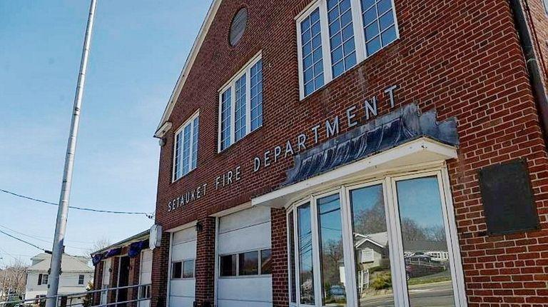 The Setauket firehouse on April 17, 2014.