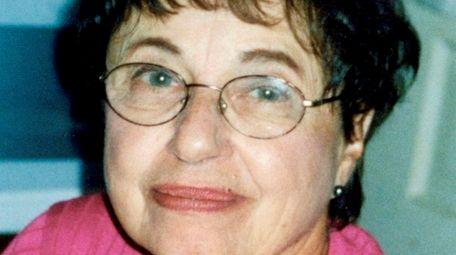 Mary Agosta, a nursery school teacher and founding
