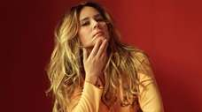 "Singer Lucie Silvas arrives with her album ""E.G.O."""