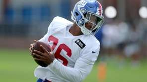 Saquon Barkley said he feels ready to return