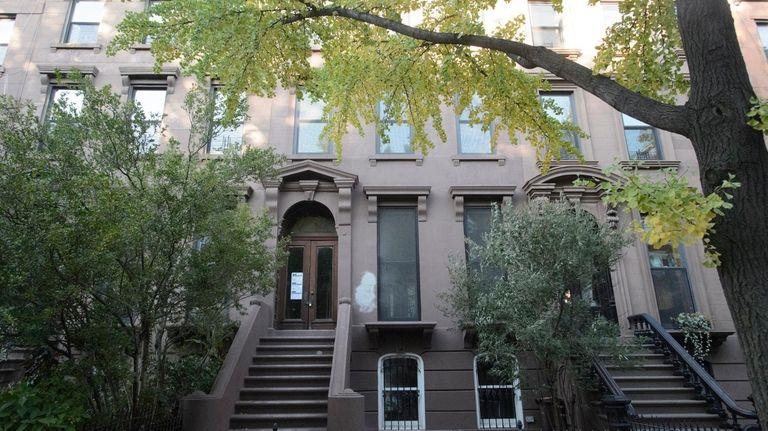 Exterior of 377 Union Street, center, a building