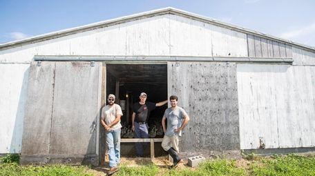Doug Corwin, president of Crescent Duck Farm in