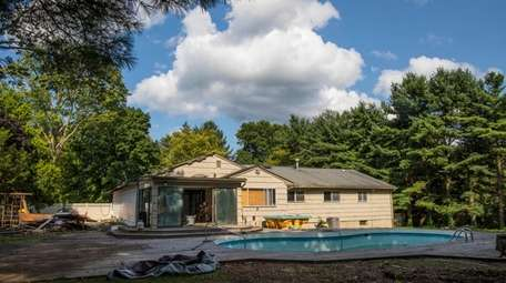 Home of Gino Marino, in Dix Hills, is