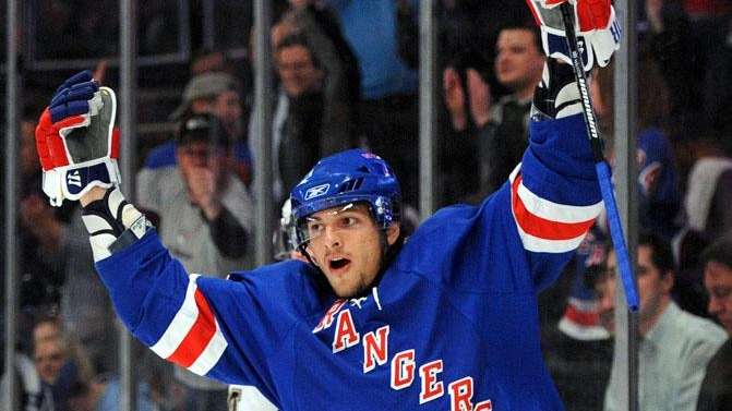 Center Artem Anisimov is one of the young