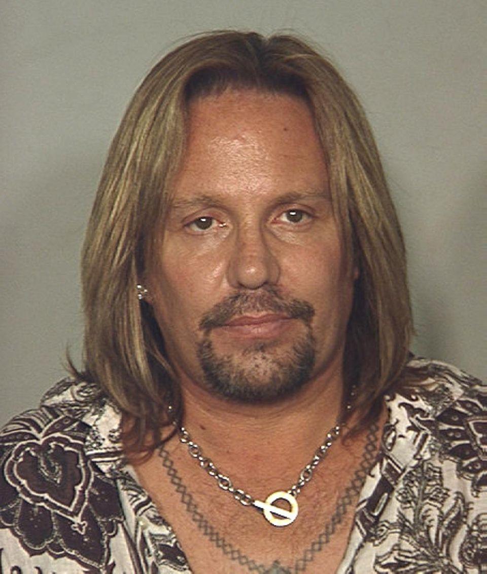 Las Vegas Metropolitan Police said Motley Crue singer