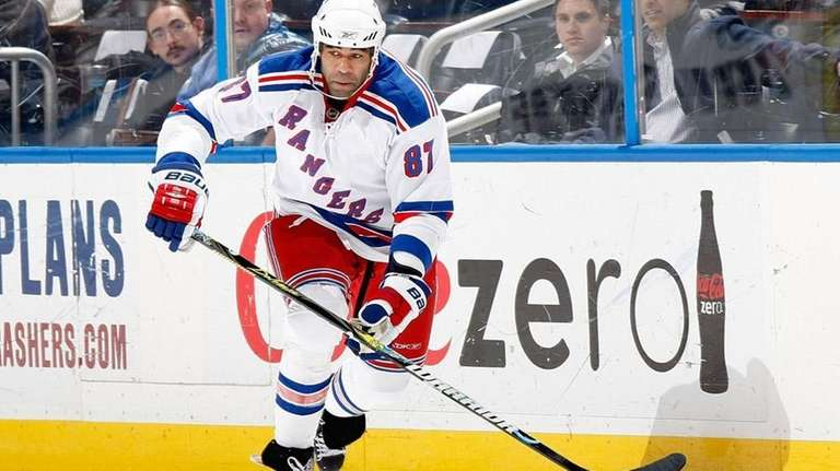The Rangers waived forward Donald Brashear, who is