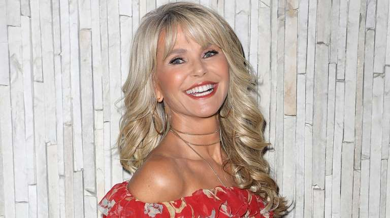 Christie Brinkley, who lives in the Hamptons, is