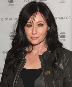 NEW YORK - FEBRUARY 16: Actress Shannen Doherty