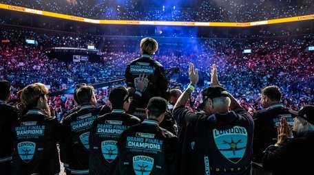 The London Spitfire captured the top prize at