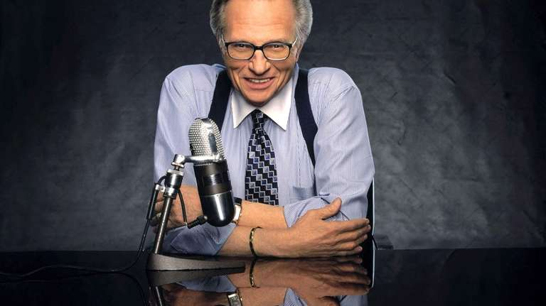 CNN talk show host Larry King
