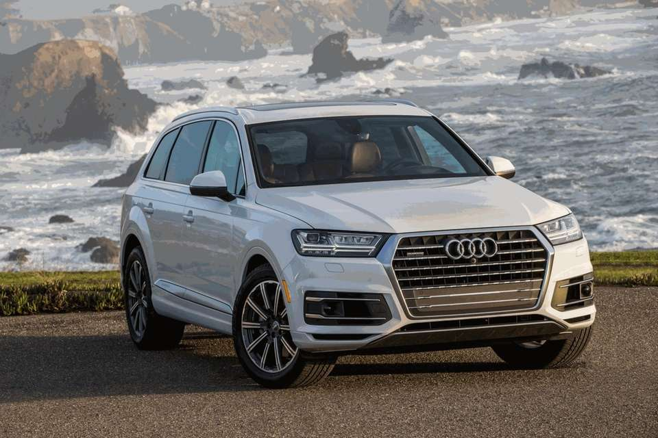 2017 Audi Q7: Redesign of luxury SUV, with