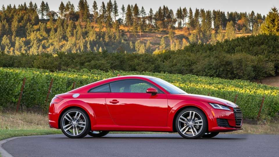 2016 AUDI TT COUPE Base price: $42,675 Price